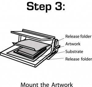 mount step 3