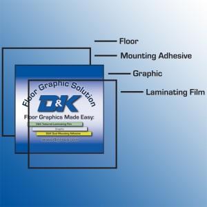 floor graphic composition