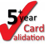 5 year card validation